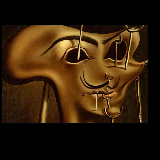 Модульная картина Мягкий автопортрет с жареной ветчиной, Сальвадор Дали