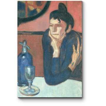 Модульная картина Любительница абсента, Пабло Пикассо