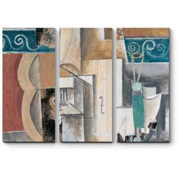 Модульная картина Гитара и скрипка, Пабло Пикассо