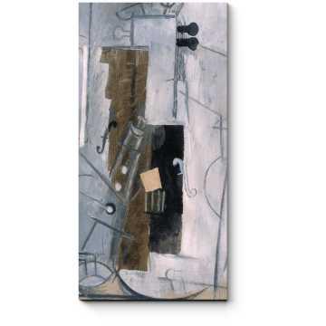 Модульная картина Кларнет и скрипка, Пабло Пикассо