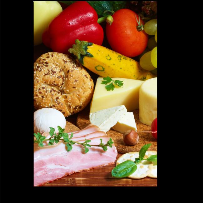 Модульная картина Праздничный обед