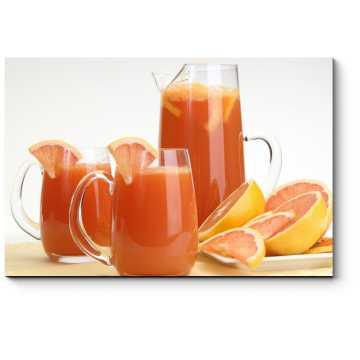 Модульная картина Грейпфрутовый сок