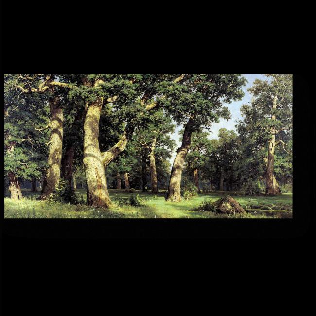 Модульная картина Дубовая роща, Иван Шишкин