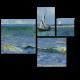 Морской пейзаж в Сен-Мари, Винсент Ван Гог