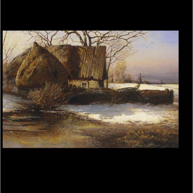 Модульная картина Весна, Алексей Саврасов
