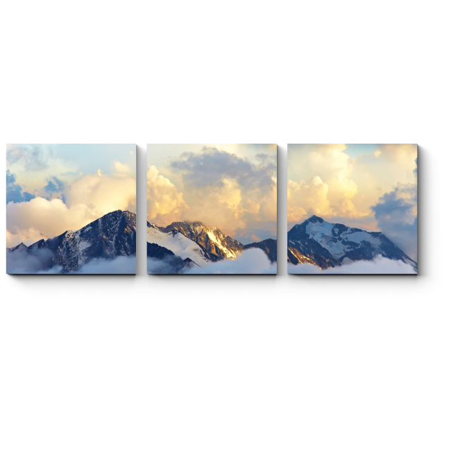 Модульная картина Альпийский пейзаж