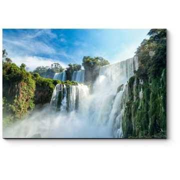 Модульная картина Удивительные водопады Игуасу