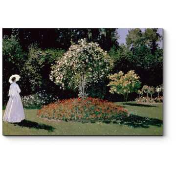 Женщина в саду. Сент-Андресс