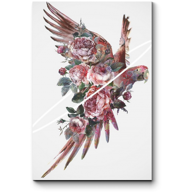 Модульная картина Прекрасная птица