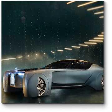 Модульная картина Автомобиль будущего