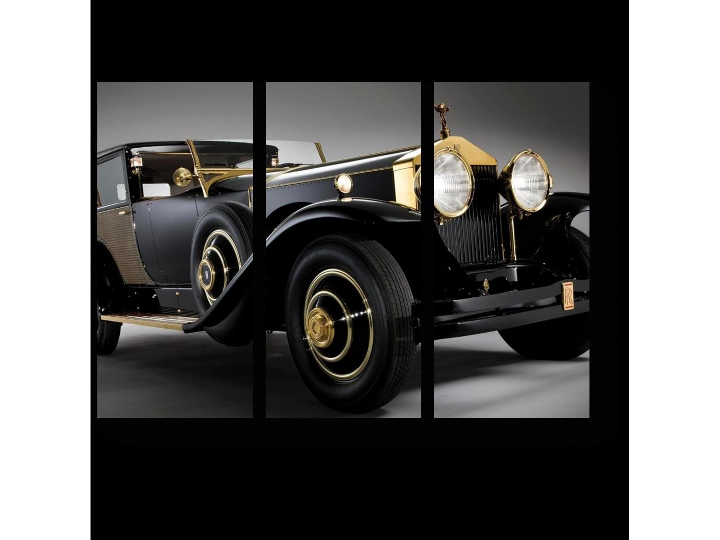 Модульная картина Винтажный Роллс-Ройс (60x43) фото