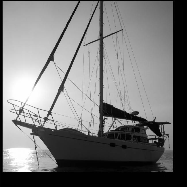 Модульная картина Шикарное судно