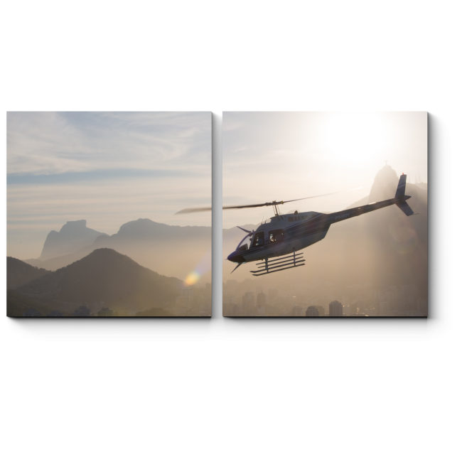 Модульная картина Воздушное путешествие