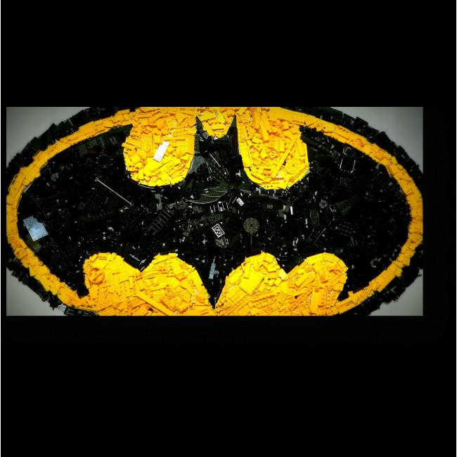 Модульная картина Лего - Бэтмен