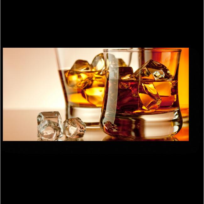 Модульная картина Виски со льдом