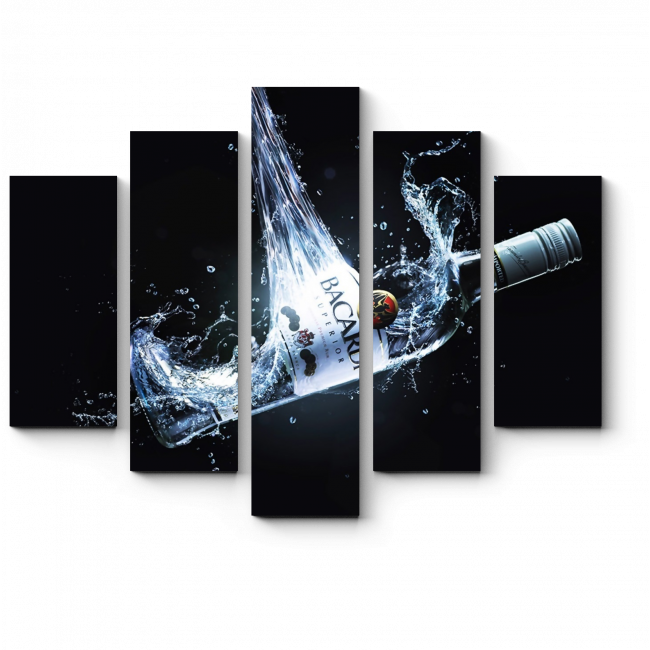 Модульная картина Обжигающие брызги