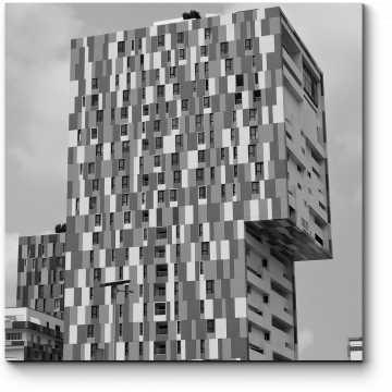 Модульная картина Красивый жилой комплекс Вилладжио