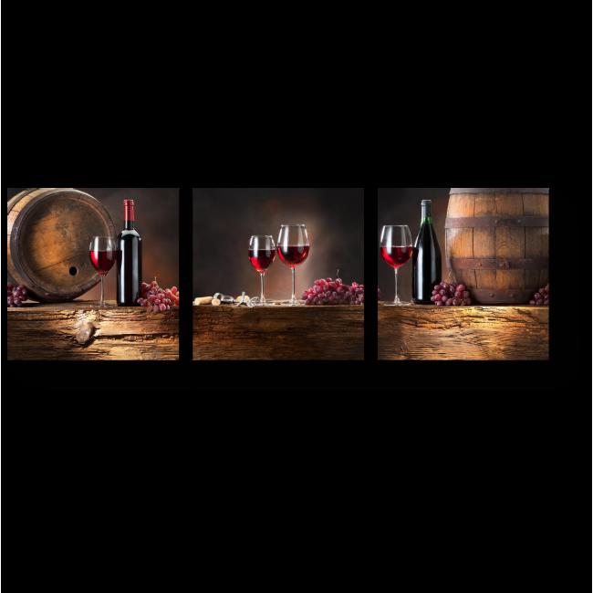 Модульная картина Винодельня