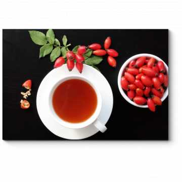 Модульная картина Барбарисовый чай