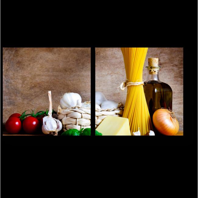 Модульная картина Итальянская паста