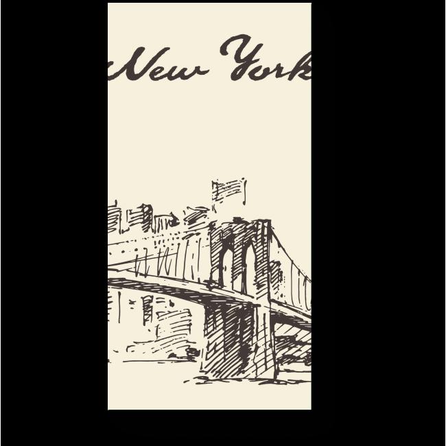 Модульная картина Мост, Манхэттен, Нью Йорк