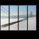"""Туман над мостом """"Золотые ворота"""""""