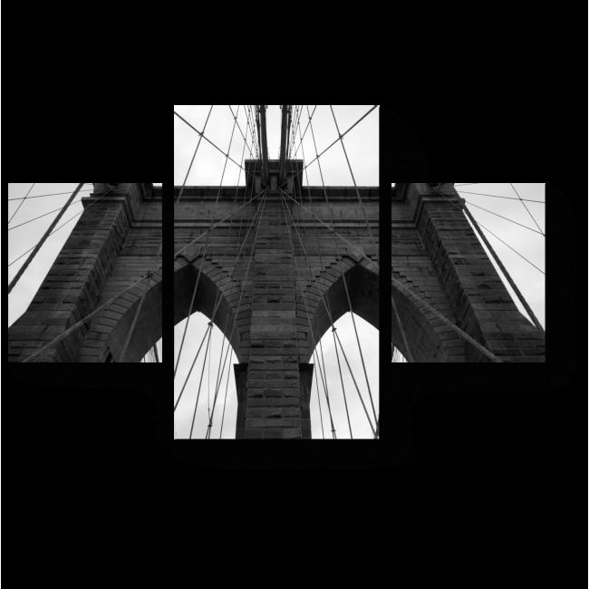 Модульная картина Мост в вечность