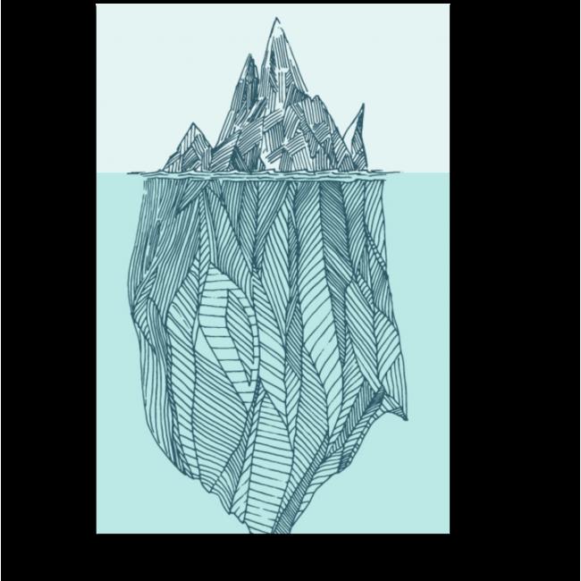 Модульная картина Айсберг