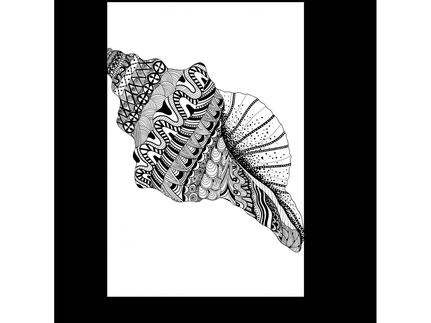 Модульная картина Морские узоры (20x30) фото