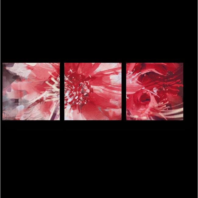 Модульная картина Цветок осени