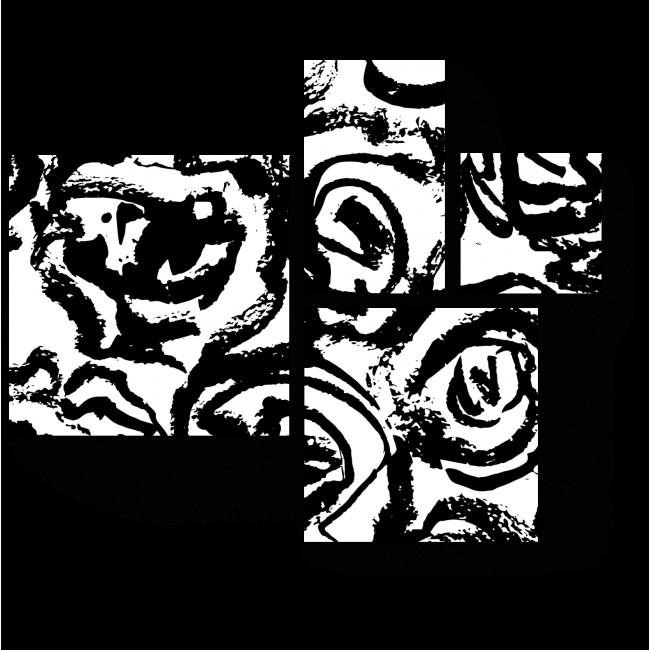 Модульная картина Нежные бутоны роз