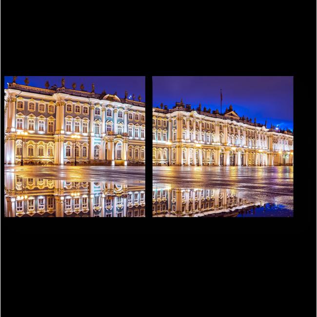 Модульная картина Зимний Дворец, Санкт-Петербург