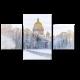 Исаакиевский Собор зимой, Санкт-Петербург