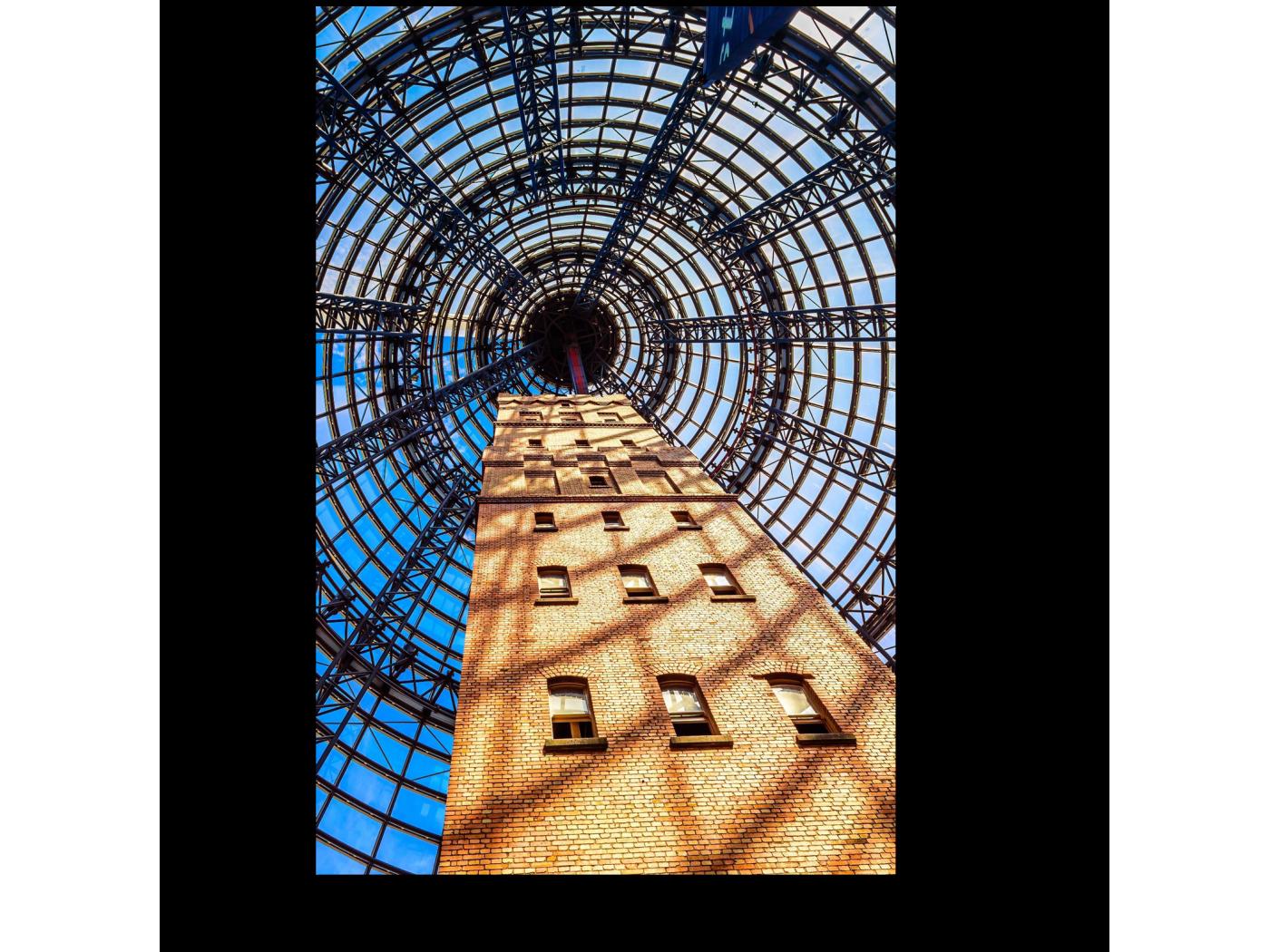 Модульная картина Центральная башня Мельбурна (20x30) фото