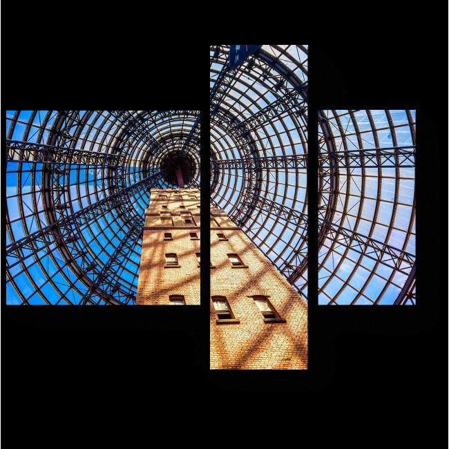 Модульная картина Центральная башня Мельбурна