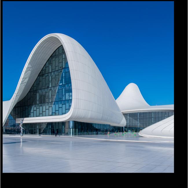 Модульная картина Центр Гейдара Алиева