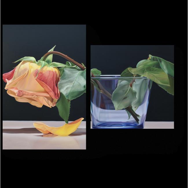 Модульная картина Чайная роза