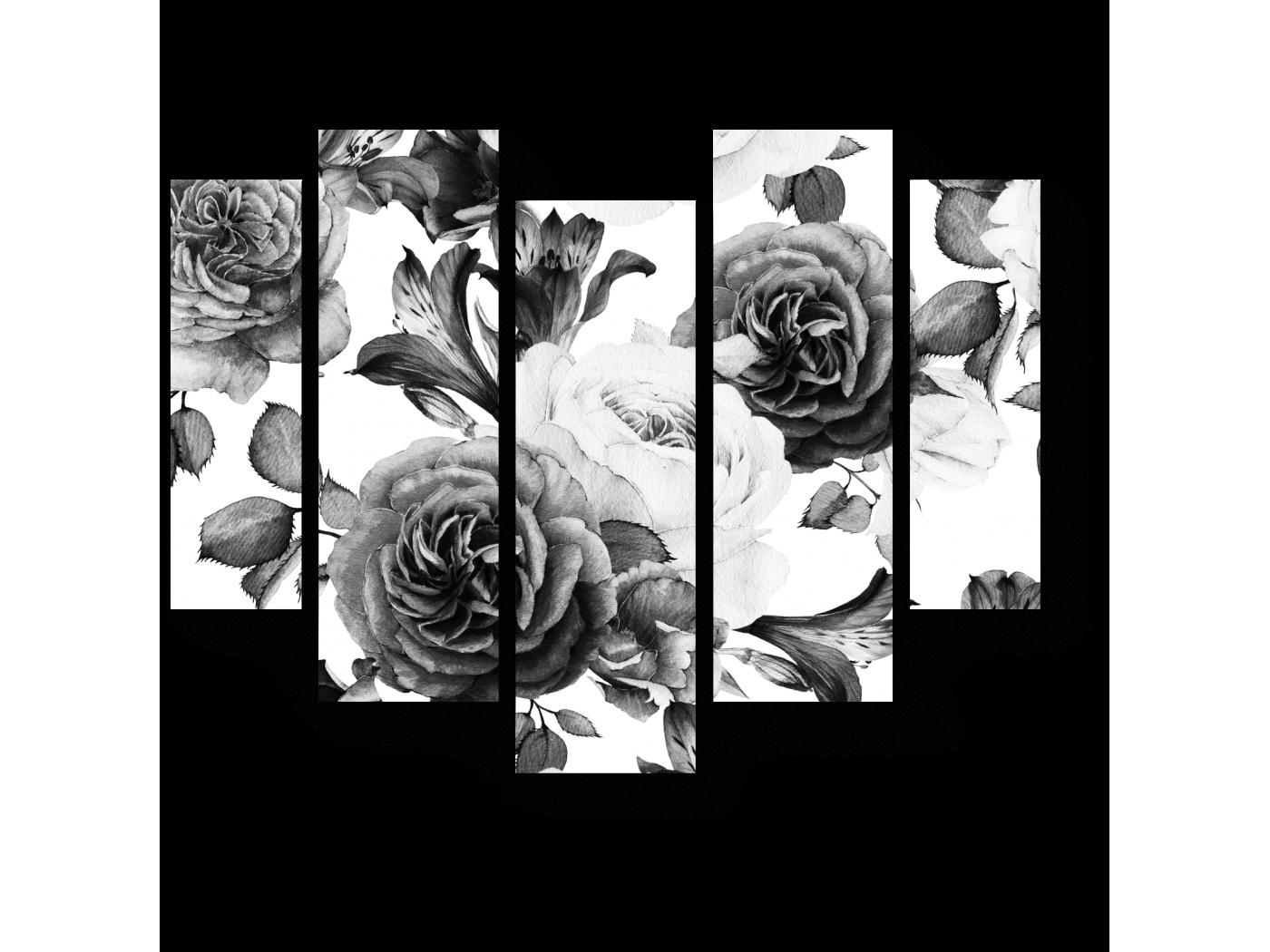 Розы модульные картинки