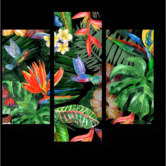 Модульная картина Тропическое настроение