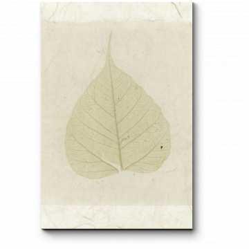Модульная картина Одинокий лист