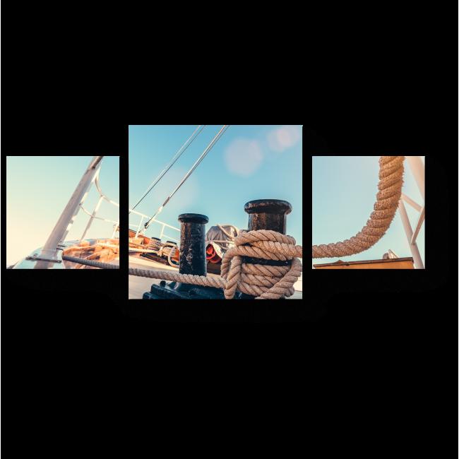 Модульная картина Морское приключение