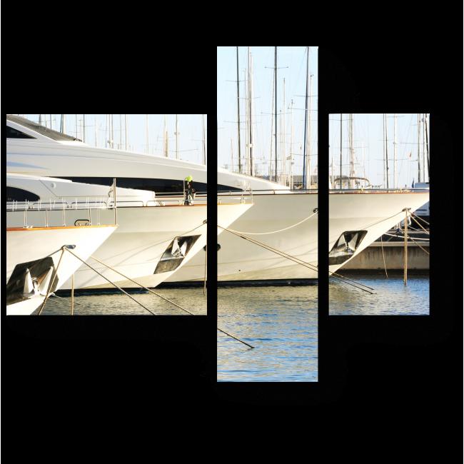 Модульная картина Порт