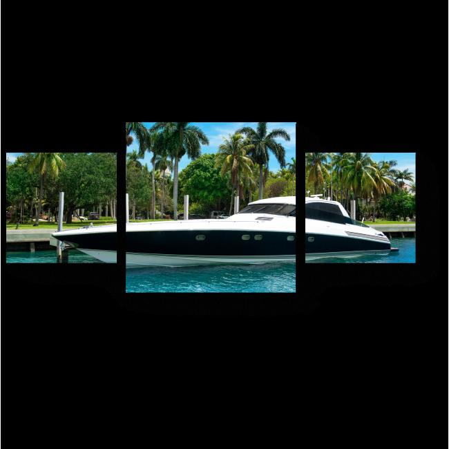 Модульная картина У берегов Майами