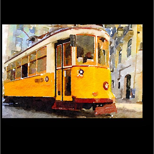 Модульная картина Лиссабонский старожил