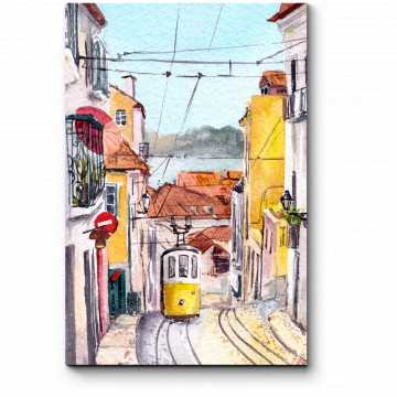 На узких улочках Лиссабона