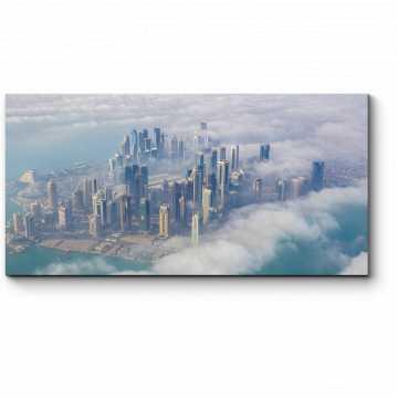 Модульная картина Вид с воздуха