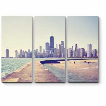 Модульная картина Прекрасный вид на Чикаго