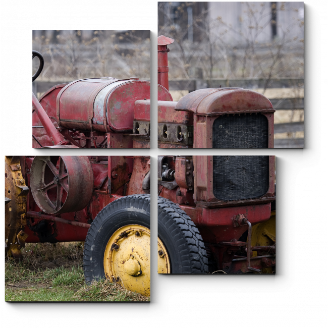 Модульная картина Старый добрый грузовичок