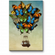 Воздушный шар из бабочек