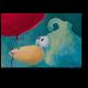Птенчик с красным воздушным шариком